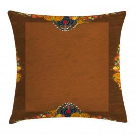 Pumpkin Harvest Throw Pillow Cushion Cover