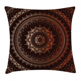 Ethnic Universe Throw Pillow Cushion Cover
