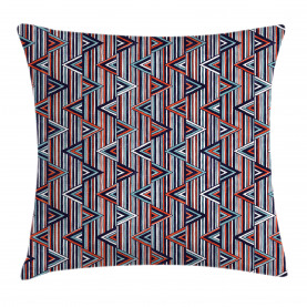 African Ethnic Striped Throw Pillow Cushion Cover