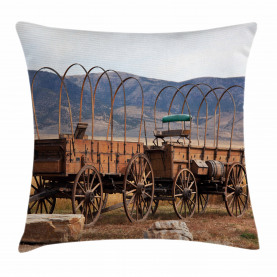 Western Style Throw Pillow Cushion Cover