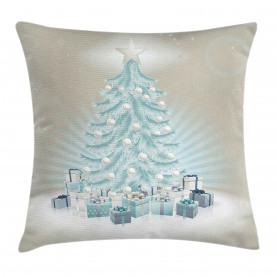 Weihnachtsbaum-Geschenke Kissenbezug