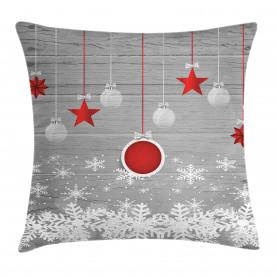Sterne Flitter Schnee Kissenbezug