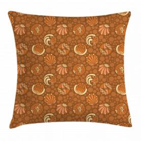 Vintage Foliage Ornamental Throw Pillow Cushion Cover