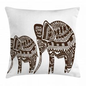 Ornamental Elefant heilig Kissenbezug