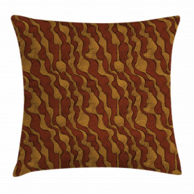 Funky African Traditional Throw Pillow Cushion Cover