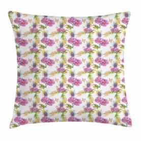 Lavendel und Pfingstrosen Kissenbezug