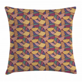 Funky African Boho Throw Pillow Cushion Cover