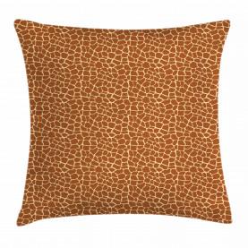 Giraffe Skin Print Throw Pillow Cushion Cover
