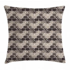 Hexagon Mosaik Bohemian Kissenbezug