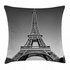 Paris Wahrzeichen Kissenbezug