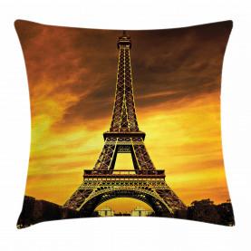 Paris Liebes Sonnenaufgang Kissenbezug