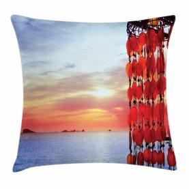 Traumfänger Ibiza Sonnenuntergang Kissenbezug