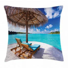 Sonnenbetten Flitterwochen Kissenbezug