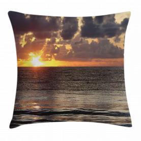 Sonnenaufgang Wolken Cancun Kissenbezug