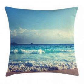 Ozean Seychellen Kissenbezug