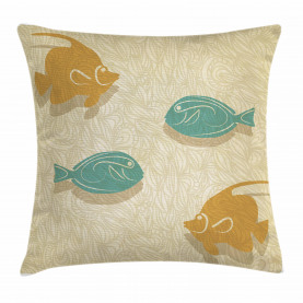 Aquarium Meereswellen Kissenbezug