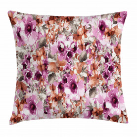 Blossoming Petal Throw Pillow Cushion Cover