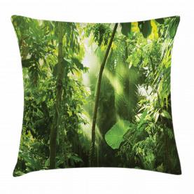 Sommer Tropischer Pflanzen Dschungel Kissenbezug