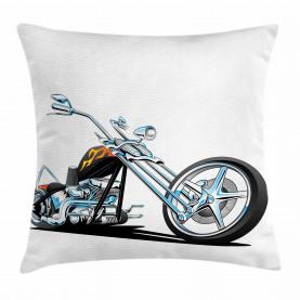 Amerikanischer Motorradsport Kissenbezug