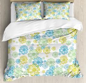 Ornate Flourish Pattern Duvet Cover Set