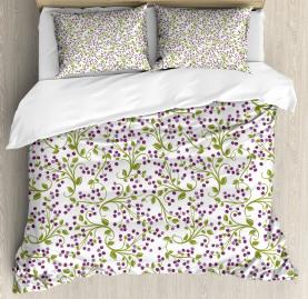 Wild Berries Botanical Duvet Cover Set