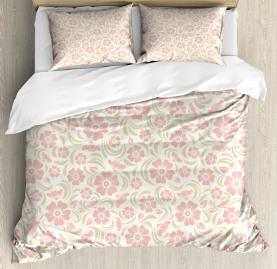 Old Fashioned Floral Duvet Cover Set