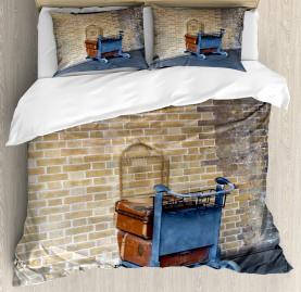 Wizard  Duvet Cover Secret Train Castle Way Print