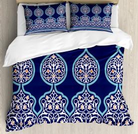 Moroccan  Duvet Cover Mystic Oriental Design Print