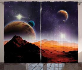 Solar Sky Orbit Kometen Vorhang