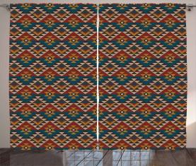 Ethnische Kunst Design Vorhang