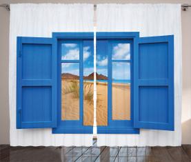 Spanien Strand entfernt Vorhang