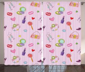 Flora Fashion Lollipop Vorhang