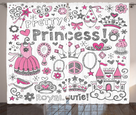 Märchen Prinzessin Tiara Vorhang