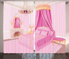 Prinzessin Schlafzimmer Interior Vorhang