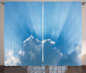 Sunburst Silver Futter Vorhang