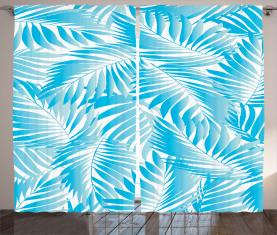 Exotische Miami Palmen Vorhang