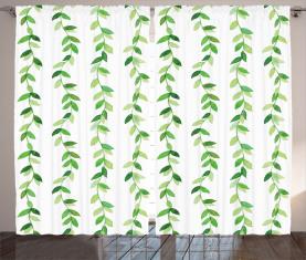 Vivid Aquarell wirbelt Vorhang