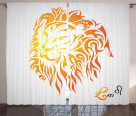 Leo Horoskop Zeichen Vorhang