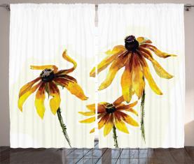 Gänseblümchen-Garten Vorhang