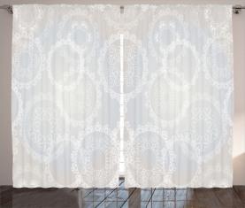 Romantische Brautspitze Vorhang