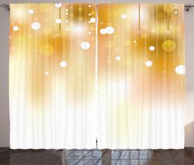 Nobles Weihnachtsdesign Vorhang