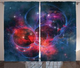 Milchstraße Sternhaufen Vorhang