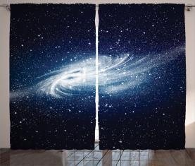 Milchstraße Galaxy Space Vorhang