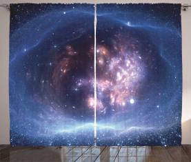 Stern-Cluster-Universum Vorhang