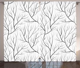 Winter Baum Vorhang