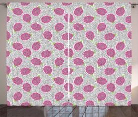 Crosscut Drachenfrucht Vorhang
