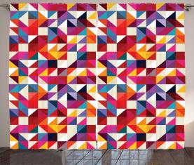 Bauhaus-Art-Muster Vorhang