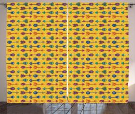 Tribal böhmischen Stil Vorhang