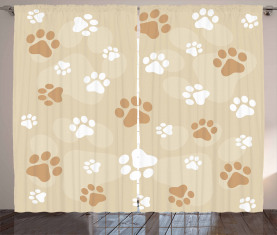 Baby Hund Pet Pfoten Vorhang