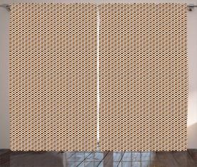 Hipster-Quadrate Vorhang